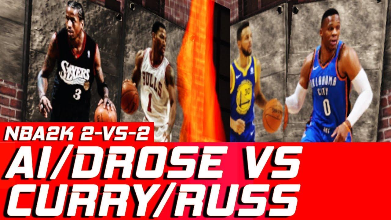 hnb-gaming-2-vs-2-wesbrook-curry-vs-iverson-derrick-rose