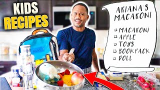 I Tried Following Kids Recipes Again   6 Foods By REAL TODDLERS   Alonzo Lerone