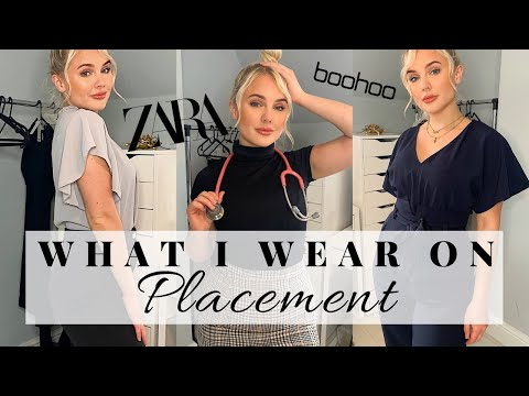 WHAT I WEAR AS A MED STUDENT ON PLACEMENT | 5 Go-to Professional Outfits (new Job, Work Experience)