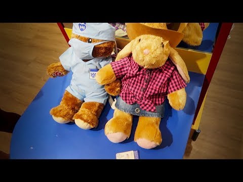 GOING TO BUILD A BEAR AT AGE 16...