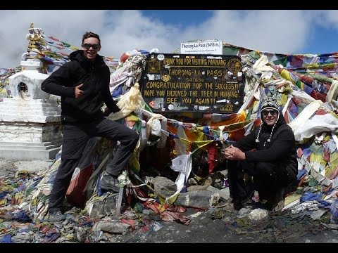 Nepal, Aug. 2014 - Annapurna circuit - part 1/2 !
