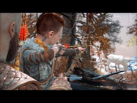 Kratos teaches his son to hunt | God of war 2018 |EGM