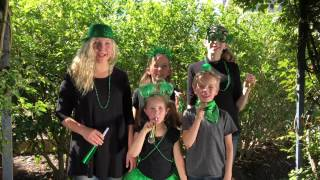 Saint Patrick's Day with Sign Post Kids!