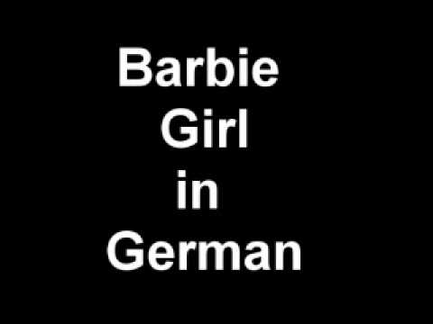 barbie song in german version