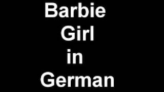 barbie song in german version