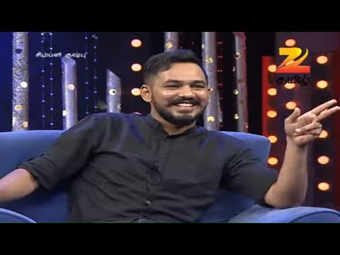 Simply Kushboo - Tamil Talk Show - Episode 18 - Zee Tamil TV Serial - Full Episode
