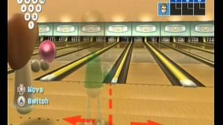 Wii Sports: Wii Sports - Bowling - Audience facial expressions