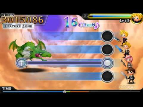 One Winged Angel - Theatrhythm Final Fantasy Gameplay (3DS)