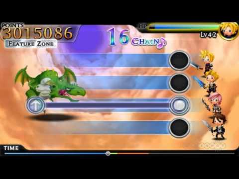 One Winged Angel  Theatrhythm Final Fantasy Gameplay 3DS