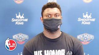Zion Williamson speaks about Pelicans' 'lack of spirit' vs. Spurs   NBA on ESPN