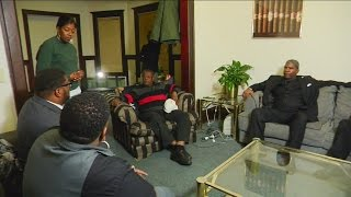 Sharpton's 'National Action Network' stops in Milwaukee, talks to Dontre Hamilton's family