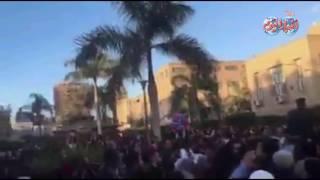 أخبار اليوم | وصلة رقص شعبي تحت قبة جامعة القاهرة