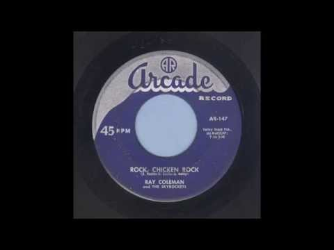 Ray Coleman - Rock Chicken Rock - Rockabilly 45