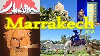 [TRAVEL VLOG] MARRAKECH MAROC/MOROCCO 2018 - Palais, mosquées, dromadaire, souks...