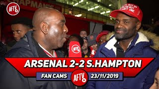 Arsenal 2-2 Southampton | Money Talks! We Can Get Any Manager If We Act Like A Big Club!