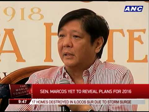 Bongbong Marcos wants to be 'unifying force'