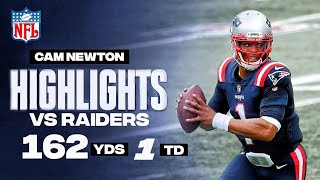 Cam Newton Full Highlights Vs Raiders - 162 yards & 1 touchdown - week 3 - nfl 2020