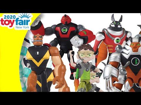 Ben 10 by Playmates Toys - New York Toy Fair 2020