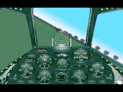 Aces Over Europe 'Dogfight A British & German Aces At Max Difficulty! PC, DOS