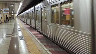 東急8500系 神保町駅発車
