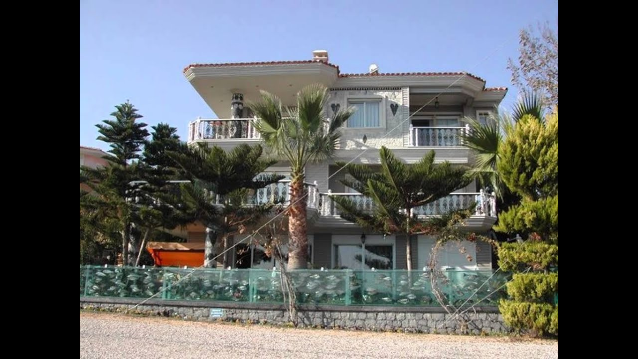 aquarium fence surrounds villa on coast of turkey fish fence youtube. Black Bedroom Furniture Sets. Home Design Ideas