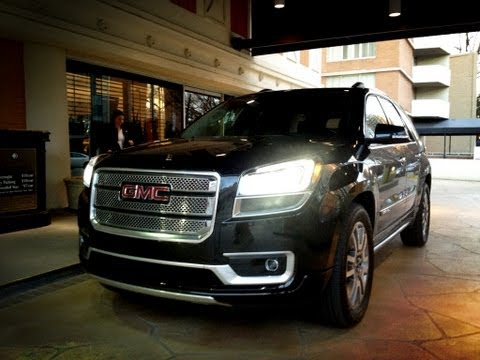 2013 GMC Acadia AWD Denali Drive Time Review with Steve Hammes
