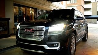 2013 GMC Acadia AWD Denali - Drive Time Review with Steve Hammes