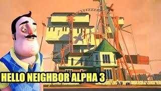 THE NEIGHBOR IS.... CRYING? | Hello Neighbor Alpha 3