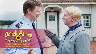 Minna Pinna Kissanmintun Sanomien haastattelussa. ONNELI, ANNELI JA SALAPERÄINEN MUUKALAINEN