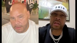 "Allen Iverson Talks To Fat Joe About His Lifetime Reebok Deal ""I'm Really F'd Up"""
