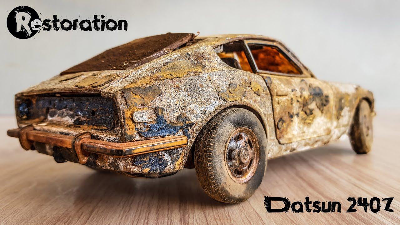 Restoration 1971 Datsun 240z Vintage Model Car | Nissan Fairlady S30