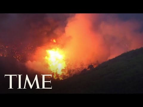 Nearly 50 Dead As Two Wildfires Burn Near Athens | TIME