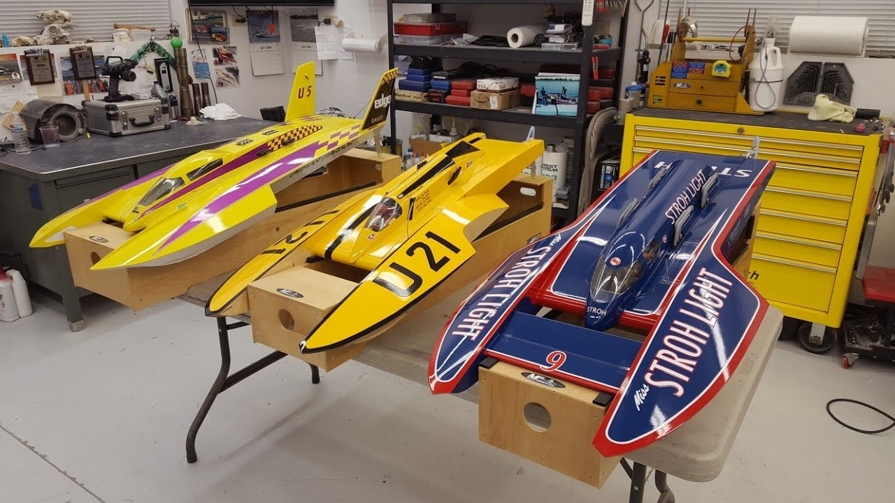 RC Hydroplane Racing Shop Tips - How To Set Skid Fin ...