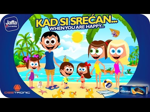 Kad si srean (If Youre Happy and You Know It) Nursery Rhymes for Kids powered by Jaffa
