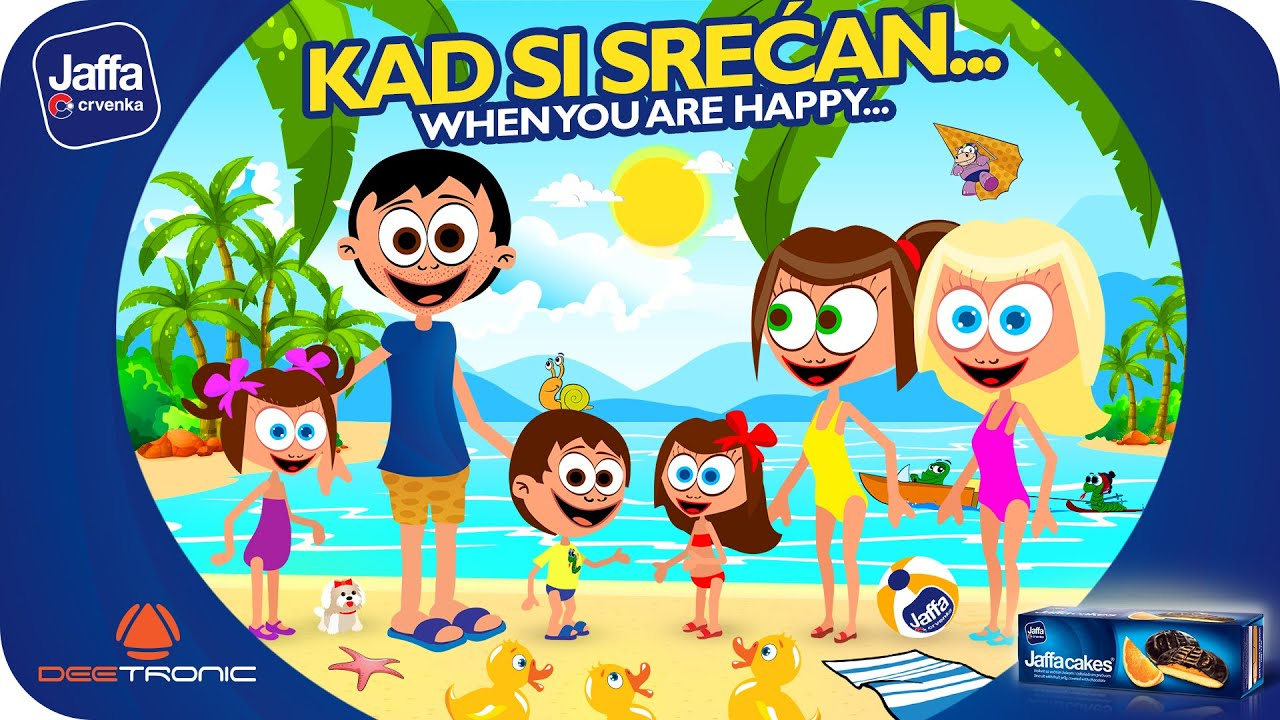 Download Kad si srecan (If You're Happy and You Know It) Nursery Rhymes for Kids powered by Jaffa