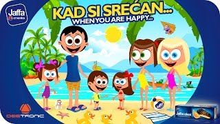Repeat youtube video Kad si srećan (When You Are Happy And You Know It) Nursery Rhymes 2015 powered by Jaffa