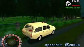 Обзор и Тест-Драйв автомобиля ГАЗ-2402 - [© Let's play (Летсплей) Всех Модификаций Игр GTA]