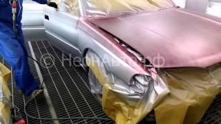 Покраска авто CANDY первый слой