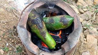 Video How To Cook Papaya Soup With Beef and Bone - Beautiful Girl Cooking - Village Food Factory Country download MP3, 3GP, MP4, WEBM, AVI, FLV Desember 2017