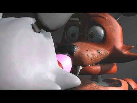 Мангл + Фокси Часть 1 - 5 Ночей с Фредди [Анимация] | ФНАФ анимация