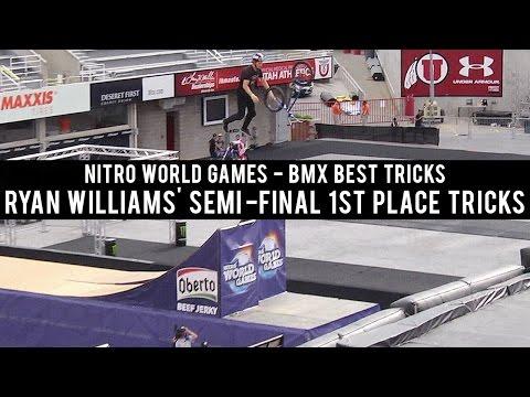 Ryan Williams' Semi-Final 1st Place Tricks at Nitro World Games