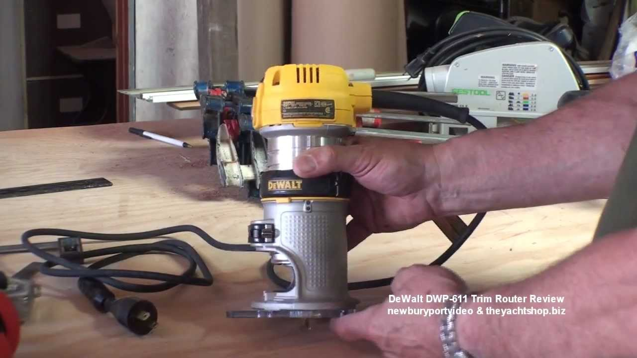 Dewalt dwp 611 router review at the yacht shop youtube dewalt dwp 611 router review at the yacht shop greentooth Image collections
