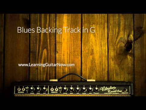 Albert King Blues Power Style Backing Track