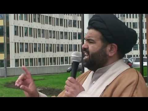 Muslims protest desecration of shrine in Syria - Utenriksdepartementet Oslo, Norway