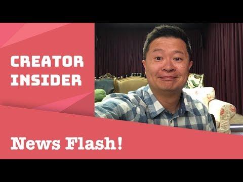 YouTube Updates Newsflash 5/18/18!