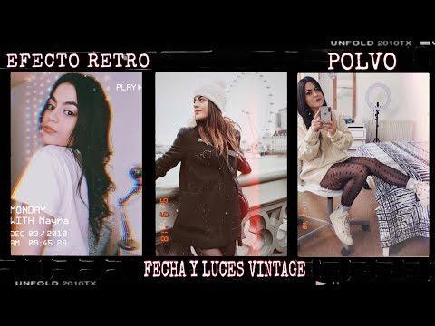 APPS FOTOS VINTAGE (POLVO, FECHA Y LUCES) | GIVEaway