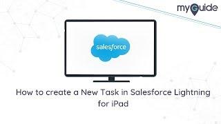 كيفية إنشاء مهمة جديدة في Salesforce البرق لباد