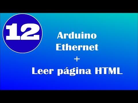 Arduino ethernet y recibiendo HTML