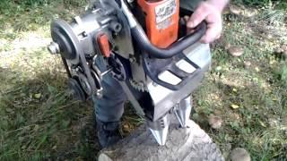 Doppeldrillkegelspalter Holzspalter Drillkegelspalter Tragbarer Holzspalter