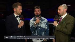Fight Night Gdansk - Mike Perry: 'Till Went Fishing For Bass and Caught a Shark'